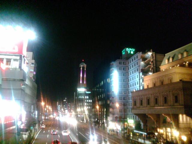 下関の夜☆